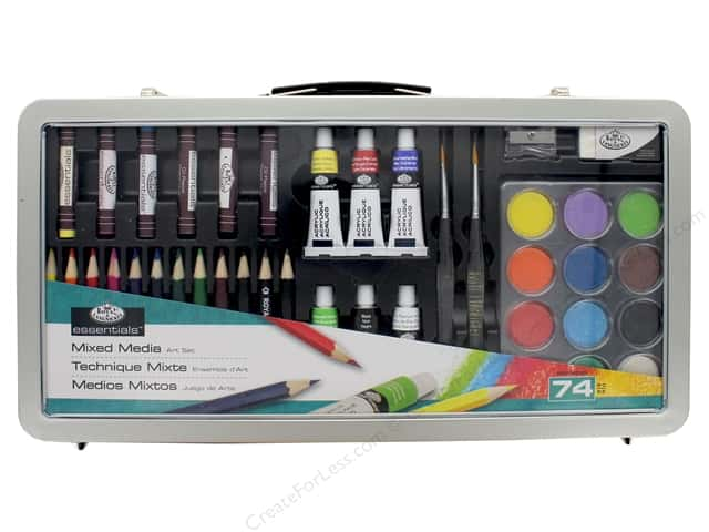 Royal Essentials Mixed Media Art Set 74 pc.