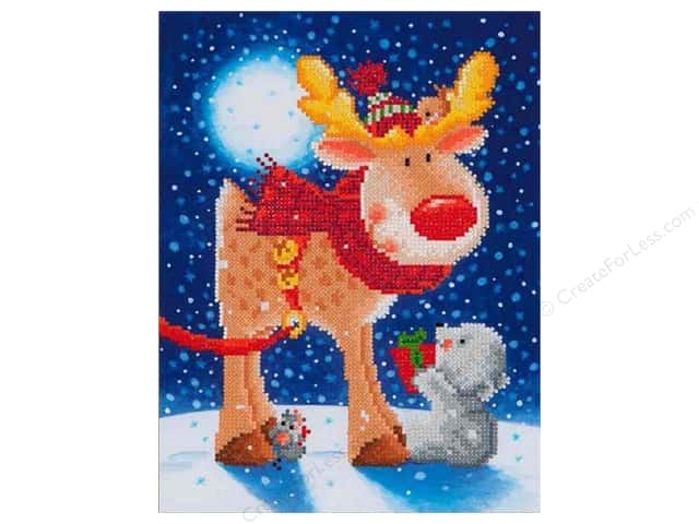 Diamond Dotz Intermediate Kit - Reindeer Gift