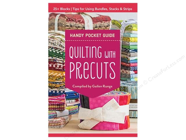 C&T Publishing Quilting With Precuts Handy Pocket Guide Book