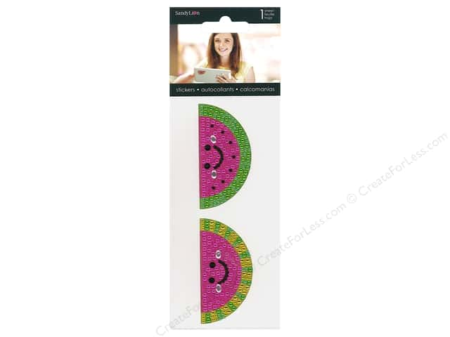 SandyLion Sticker Rhinestone Watermelon