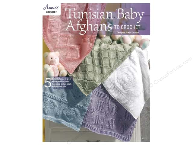 Tunisian Baby Afghans to Crochet Book