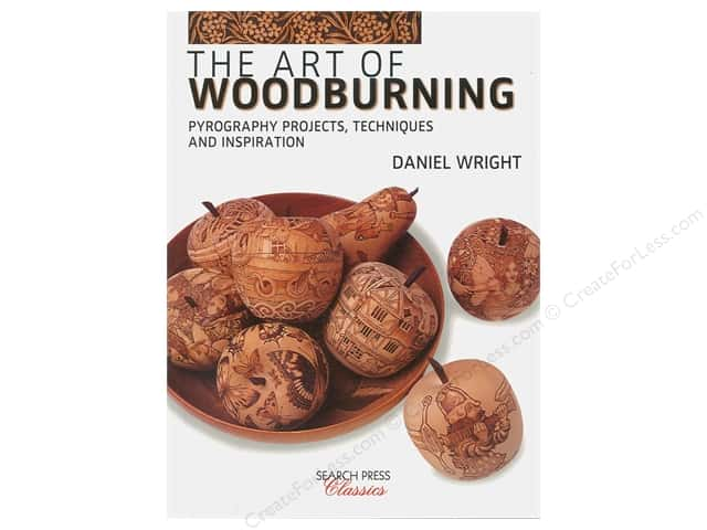 Search Press The Art Of Woodburning Book