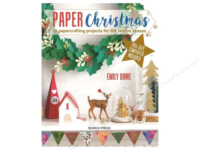 Search Press Paper Christmas Book