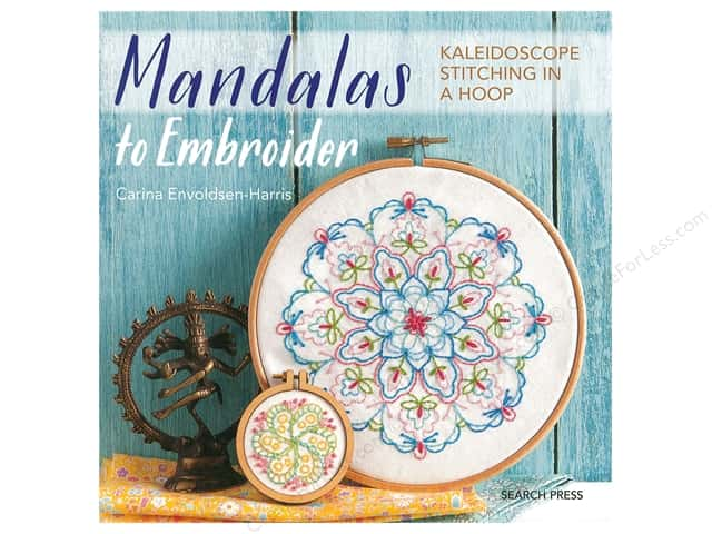 Search Press Mandalas To Embroider Book