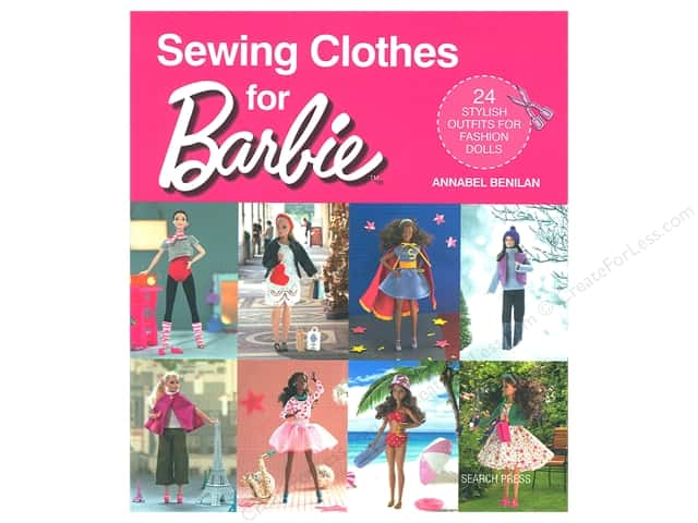 Search Press Sewing Clothes for Barbie Book