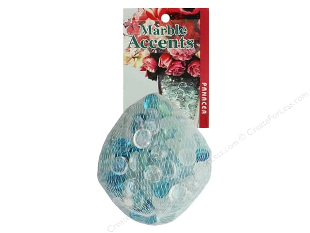 Panacea Decorative Accents Glass Gems Admiral Blue 12oz