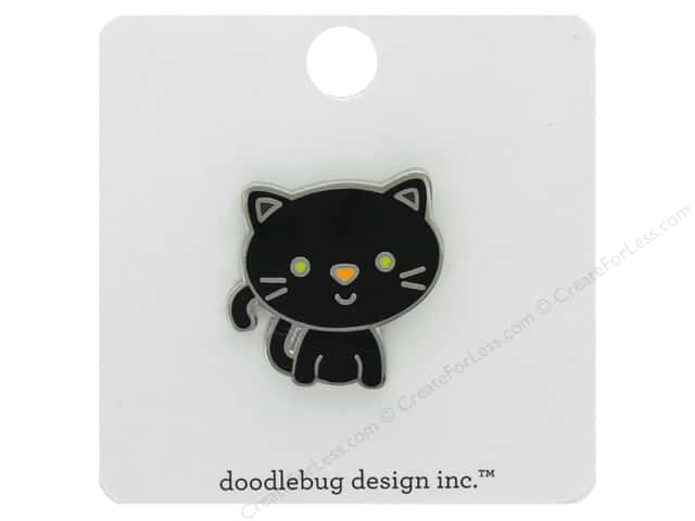 Doodlebug Collection Pumpkin Party Collectible Pin Midnight