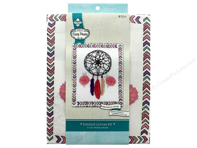 """Needle Creations Kit Embroidery Canvas 8""""x 10"""" Dream Catcher"""