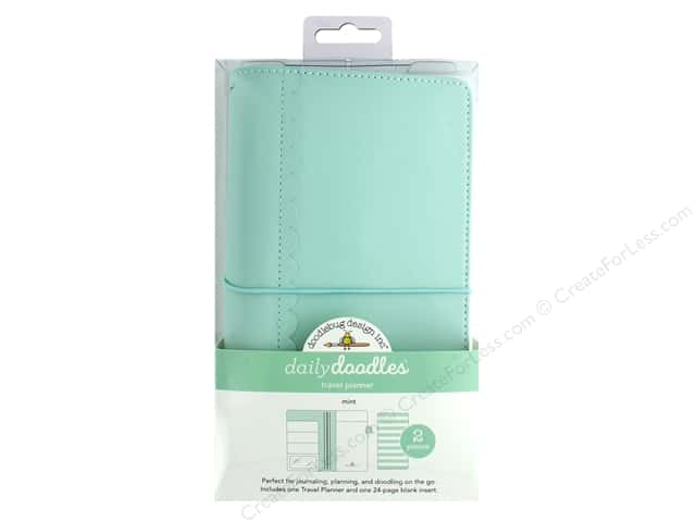 Doodlebug Collection Daily Doodles Travel Planner Mint