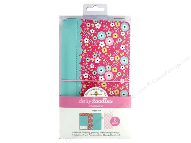 Doodlebug Collection So Punny Travel Planner Poppy Dots
