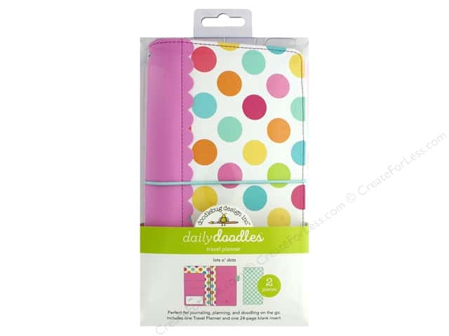 Doodlebug Collection Sweet Summer Travel Planner Lots Of Dots