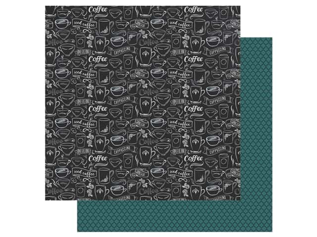 Echo Park Collection Coffee Paper 12 in. x 12 in. Coffee Blend