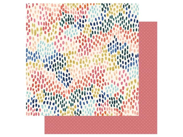 Echo Park Collection Coffee Paper 12 in. x 12 in. Coffee Run