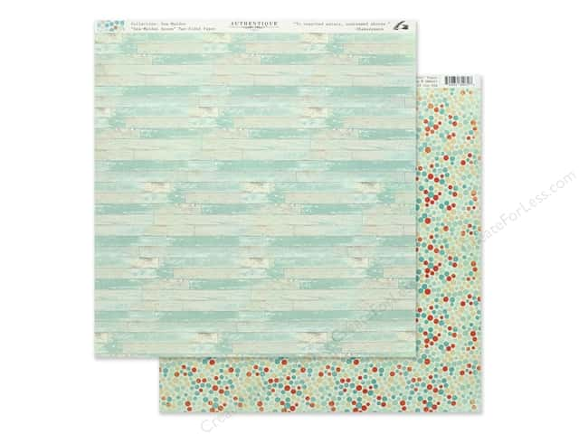 Authentique Collection Sea Maiden Paper 12 in. x 12 in. Seven