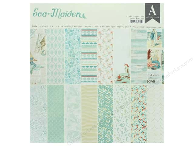 Authentique Collection Sea Maiden Paper Pad 12 in. x 12 in.