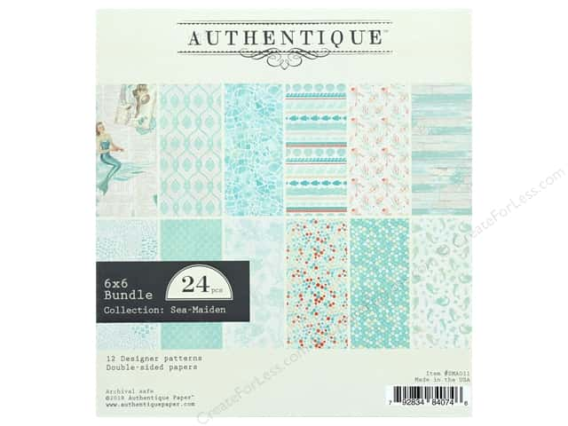 Authentique Collection Sea Maiden Bundle Pad 6 in. x 6 in.
