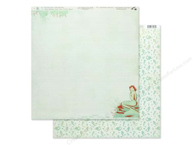 Authentique Collection Sea Maiden Paper 12 in. x 12 in. Six