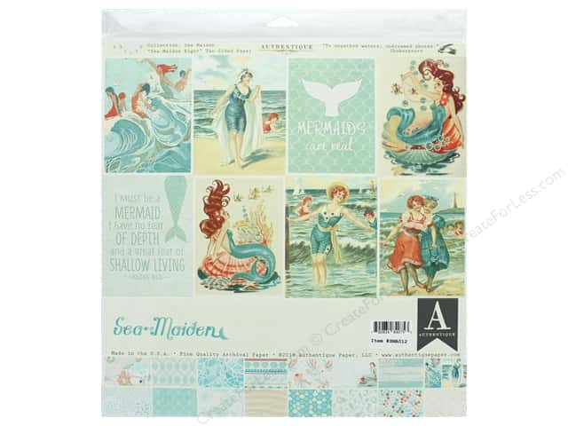 Authentique Collection Sea Maiden Collection Kit 12 in. x 12 in.