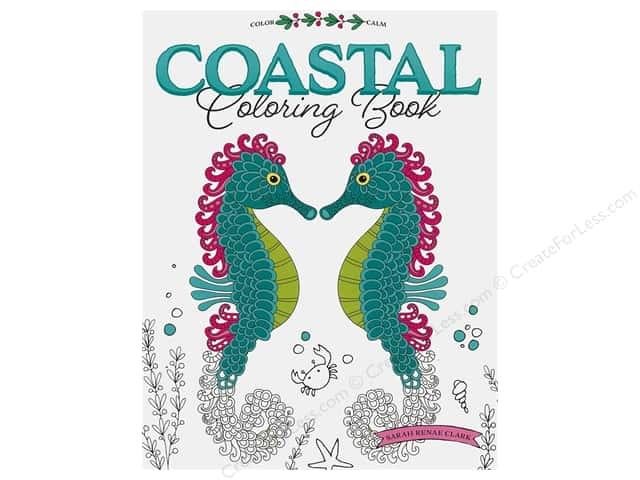 Leisure Arts Coastal Coloring Book