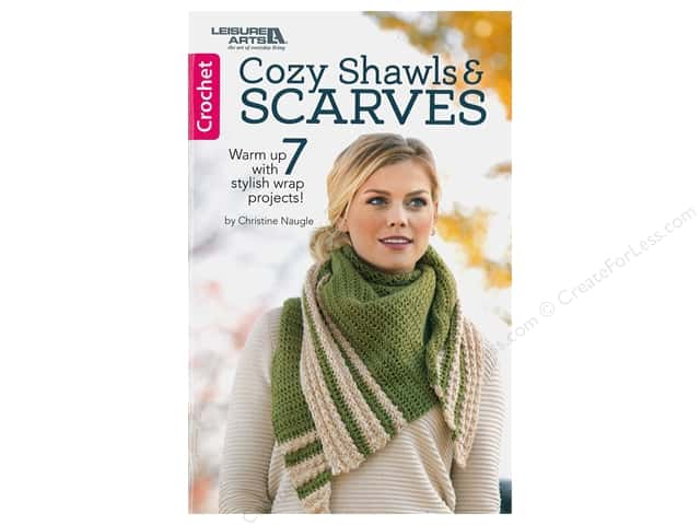 Leisure Arts Cozy Shawls & Scarves Book