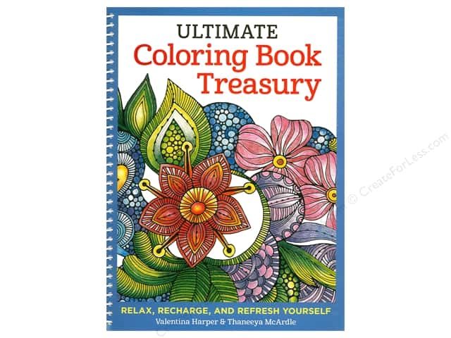 Design Originals Ultimate Coloring Book Treasury