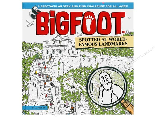 Happy Fox BigFoot Spotted At World Famous Landmarks Book