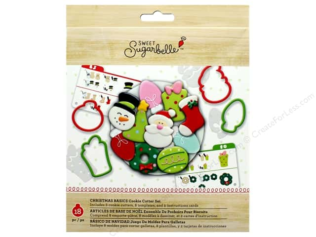 American Crafts Collection Sweet Sugarbelle Cookie Cutter Kit Holiday
