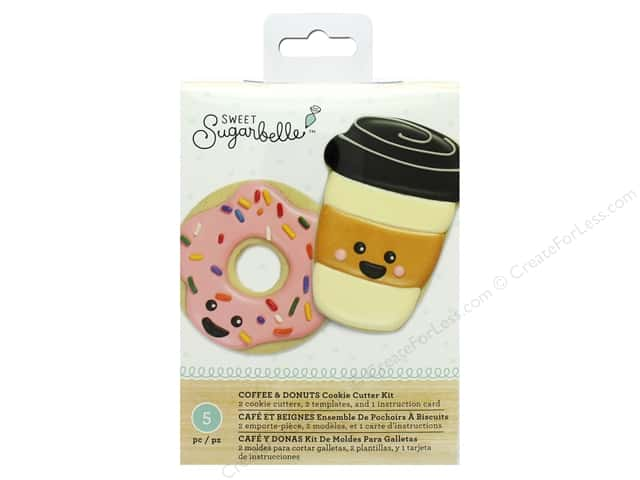 American Crafts Collection Sweet Sugarbelle Box Set Coffee & Doughnuts