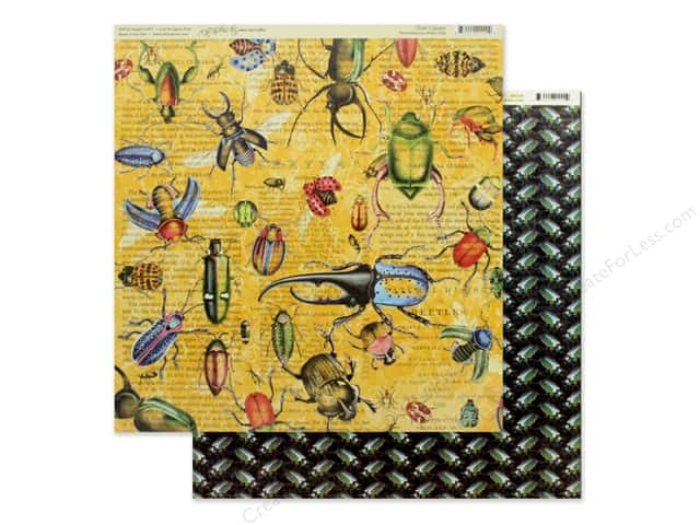 Graphic 45 Collection Flutter Paper 12 in. x 12 in. Serendipitous