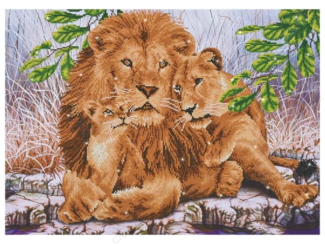Diamond Dotz Advanced Kit - Lion Family