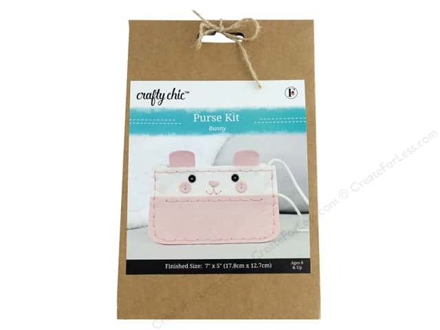 Crafty Chic Purse Kit - Bunny