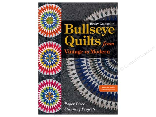C&T Publishing Bullseye Quilts From Vintage To Modern Pattern