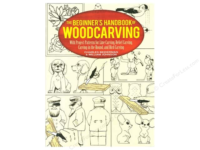 Beginner's Handbook of Woodcarving Book