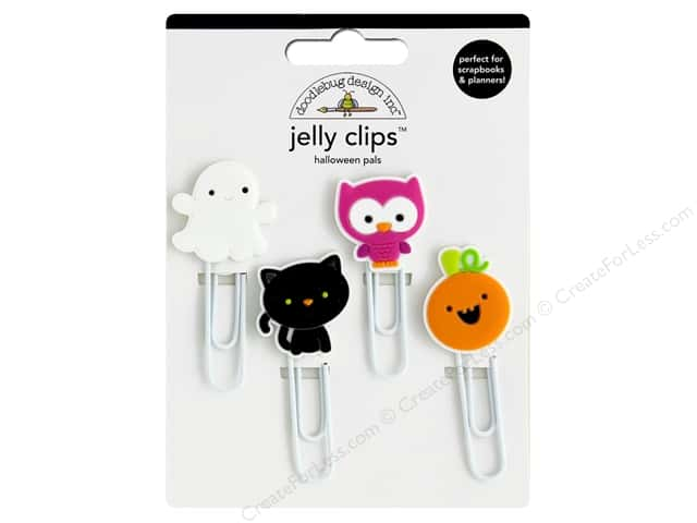 Doodlebug Collection Pumpkin Party Jelly Clips Halloween Pals