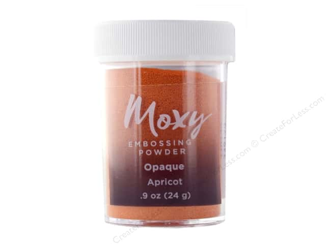 American Crafts Moxy Embossing Powder .9 oz. Opaque Apricot