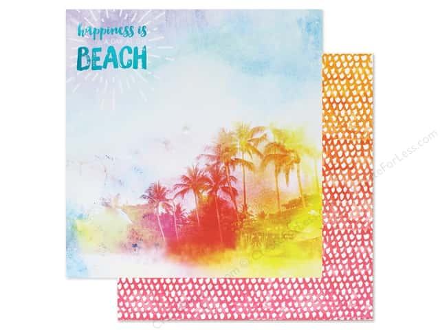 Paper House Paper 12 in. x 12 in. A Day At The Beach