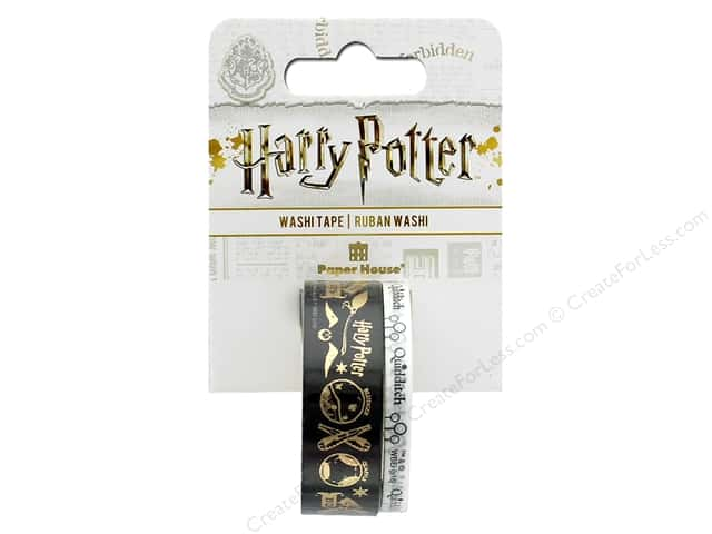 Paper House Collection Life Organized Washi Tape Warner Bros Harry Potter Quidditch