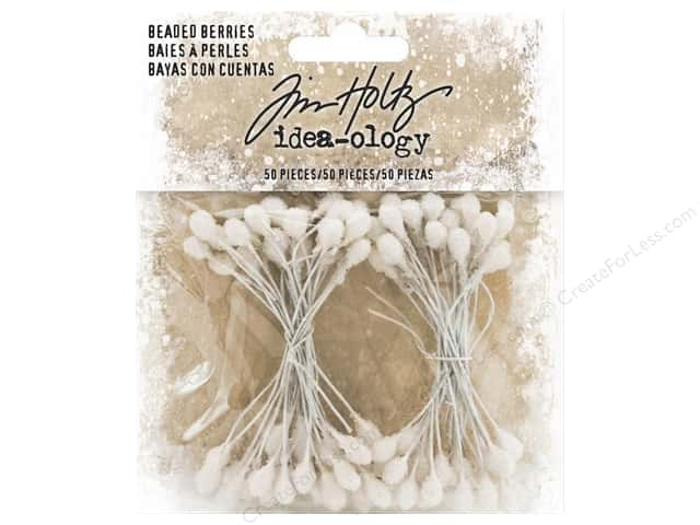 Tim Holtz Idea-ology Christmas Beaded Berries