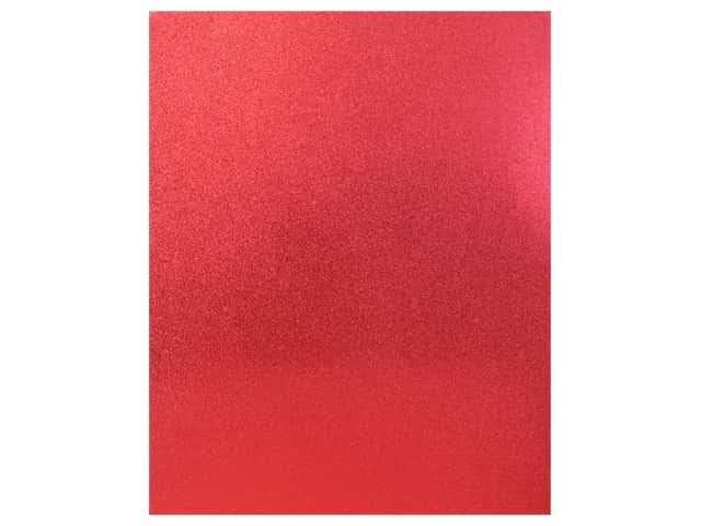 American Crafts Collection Poster Shop Poster Board Glitter Red