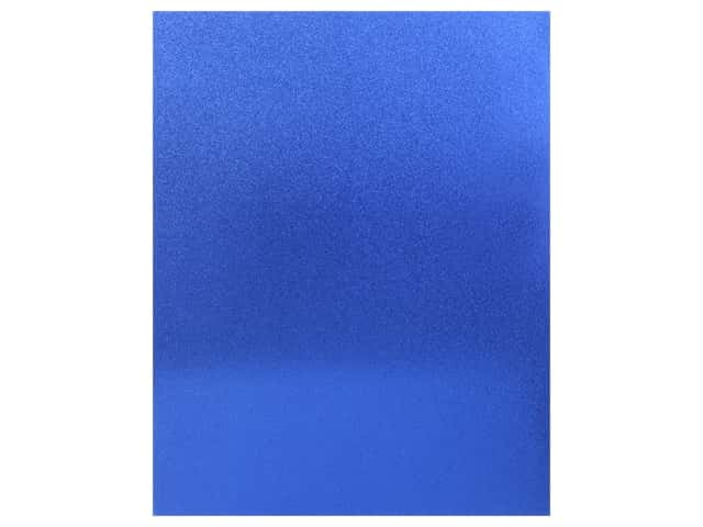 American Crafts Collection Poster Shop Poster Board Glitter Blue