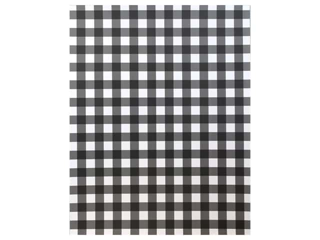 American Crafts Collection Poster Shop Poster Board Plaid White
