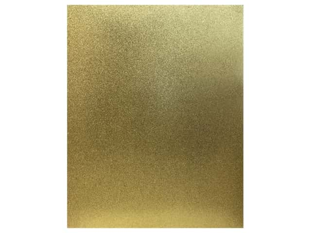American Crafts Collection Poster Shop Poster Board Glitter Gold