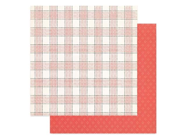 Crate Paper Collection Merry Days Paper 12 in. x 12 in. Cheer