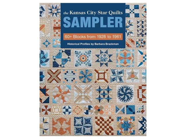 C&T Publishing Kansas City Star Quilts Sampler Book