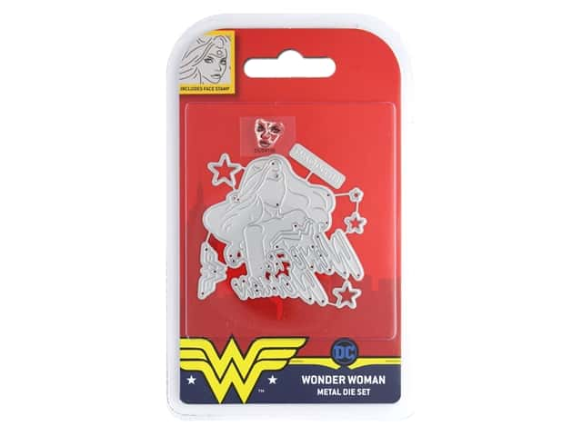 Character World Die/Stamp DC Comics Wonder Woman Face
