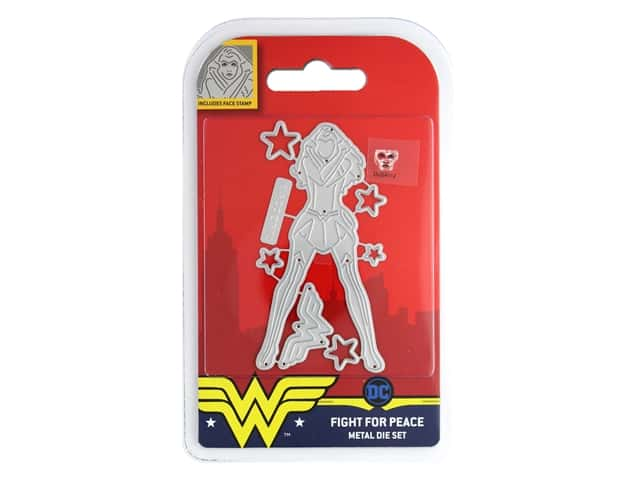 Character World Die/Stamp DC Comics Wonder Woman Fight For Peace