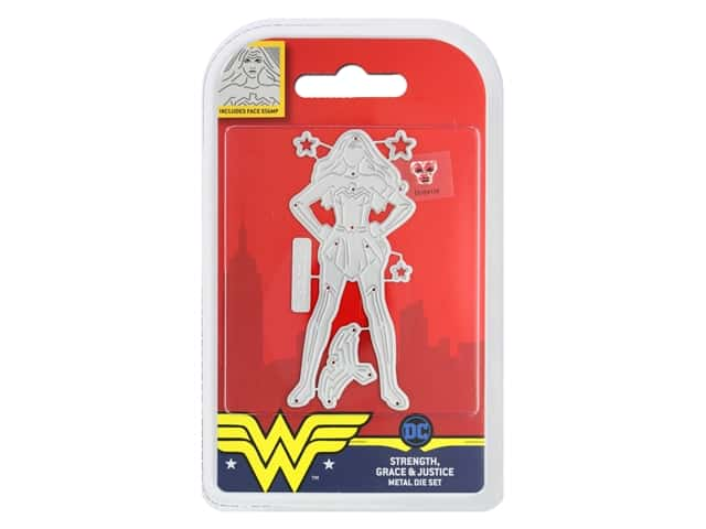 Character World Die/Stamp DC Comics Wonder Woman Strength Grace & Justice