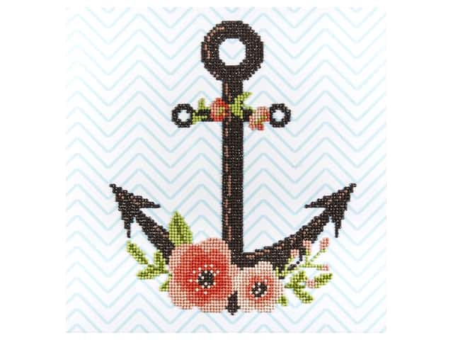Diamond Art Kit 12 x 12 in. Anchor