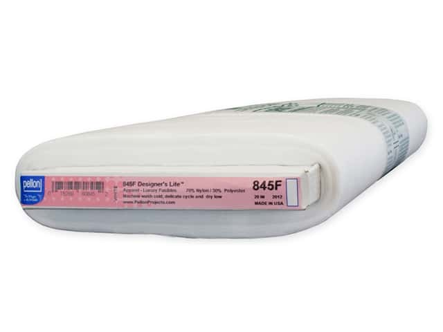 Pellon Interfacing Fusible Designer Lite 20 in. x 25 yd White