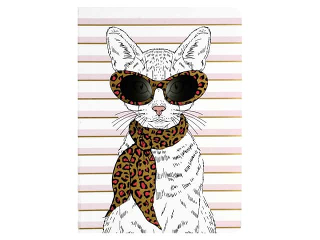 Paper House Collection Life Organized Journal Soft Cover Fashion Cat